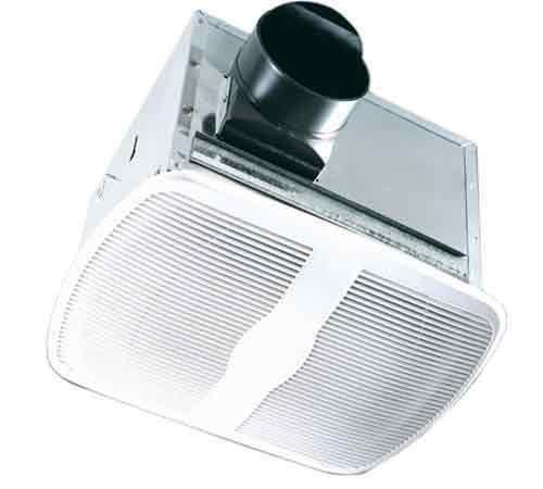 Air King AK80H Energy Star Quiet Series Humidity Sensing Bath Fan, 80-CFM, White by Air King America by Air King America