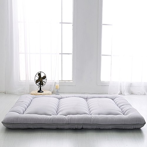 Colorful Mart Grey Futon Tatami Mat Japanese Futon Mattress Cheap Futons For Sale Christmas Gift Idea Gift For Women Men Gift For Mom Dad, Full Size