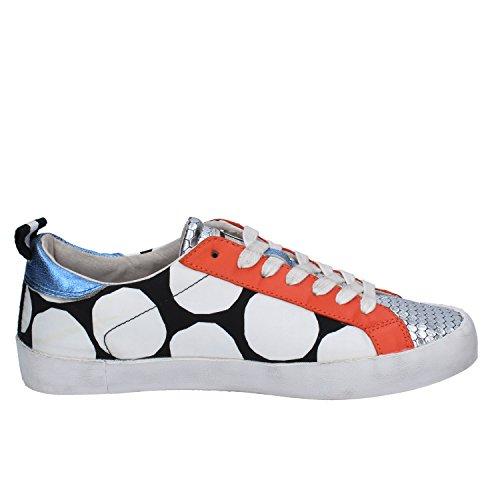 D.A.T.E. Date Sneakers Donna 37 EU Multicolore Tessuto Pelle