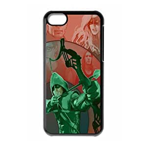 FOR Iphone 5c -(DXJ PHONE CASE)-TV Show Green Arrow-PATTERN 11