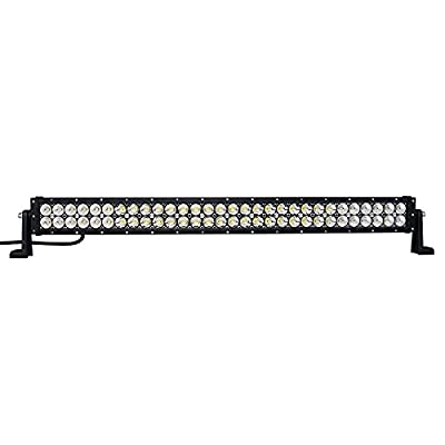 SLDX 32inch 180W LED Light Bar Black Spot&Flood Combo Beam for Wrangler,UTV,ATV,SUV,Offroad 6500K IP68