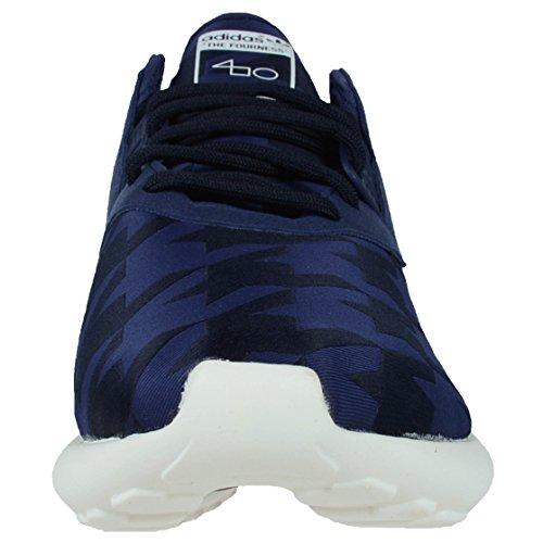 Adidas Mænds Rørformet Runner Fourness Solid Grå / Fed Blå-kridt Hvid S77288 Sko Mørkegrå Lyng / Fed Blå / Kridt Hvid 6ohjadTvk