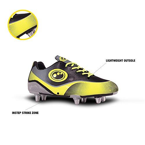 Pour Gris De jaune Optimum Noir Atomik Hommes Rugby Chaussures wIn1Uqp