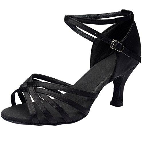 Minitoo - salón mujer , color Negro, talla 36 2/3