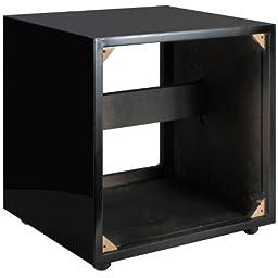 Dayton Audio SWC2-BK 2.0 ft³ Subwoofer Cabinet Gloss Black