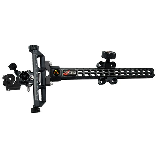 Axcel Archery Sights Achieve Carbon Bar XL Left Hand Compound Sight Extension, Grey, 5 x 2 1/8 x 1.26-Inch