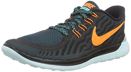 Nike Men's Q2 Free 5.0 Running Sneaker Shoes, Black