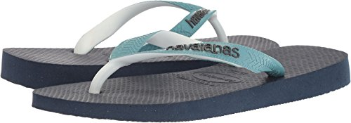 Havaianas Women's Flip-Flop Sandals, Top Mix ,Navy Blue/Mineral Blue,39/40 BR (9-10 M US) by Havaianas