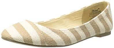 Wanted Shoes Women's Ahoy Skimmer,Natural,6 M US