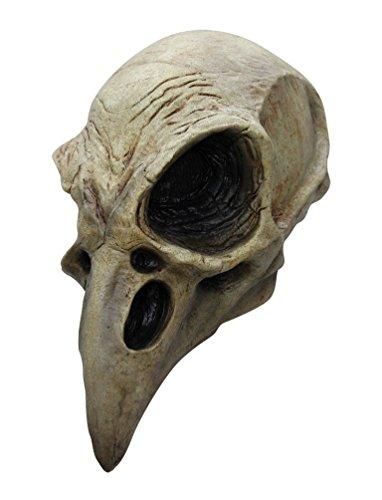 Realistic Skull Mask (Crow Skull Latex Adult Mask)