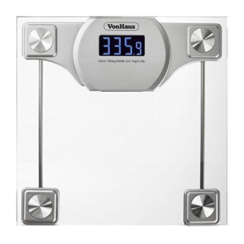 Electronic Bathroom Weighing Scales: VonHaus Digital Bathroom Scale