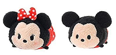 Mickey and Friends ''Tsum Tsum'' Mini Plush Collection Minnie Mouse and Mickey Mouse