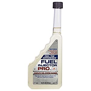 Fuel Injector Cleaner Complete System Cleaning Fluid Additive for Carburetor Engine Gas Line & More. Works With Car, Lawn Mower to Increase Power, Efficiency and Economy Boosting Stabilizer. 104+