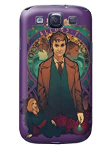 Light color tpu skin case cover with cartoon for Samsung Galaxy s3