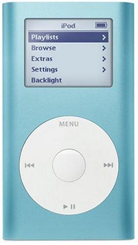 Apple Ipod Mini 4gb Blue 9436ba