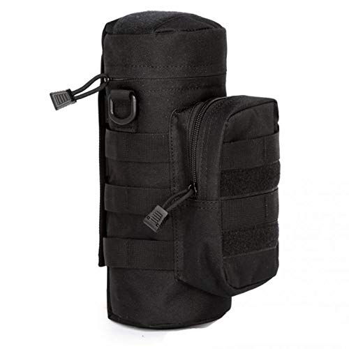 Outdoors Molle Water Bottle Pouch Tactical Gear Kettle Waist Shoulder Bag Army