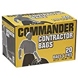 Commander Contractor Bags - No Print - 33 x 48 - 20/Box