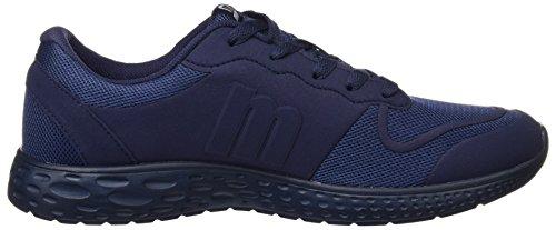MTNG Attitude Marathon, Zapatillas de Deporte para Hombre Azul (Mesh Marino)