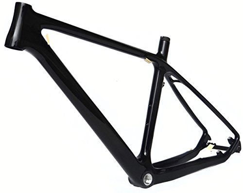 Full Carbon Glossy 26er Mountain Bike MTB Cycling BSA Frame 21""