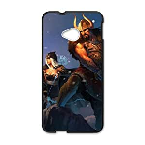 HTC One M7 Black phone case Tryndamere league of legends AJK8715533