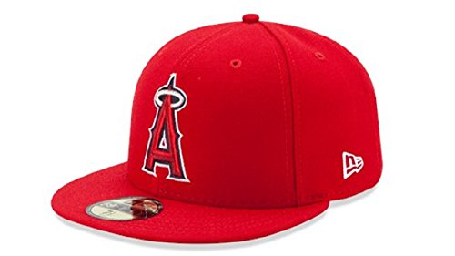 New Era 59FIFTY New Era Los Angeles Angels of Anaheim MLB 2017 Authentic Collection On Field Game Cap Size 7