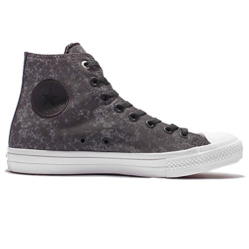 silver white Montantes Mixte Converse Adulte Sneaker High Taylor Star Black All II Chuck Hqx1BUHP