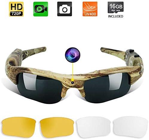Toughsty Sunglasses Eyewear Recording Camcorder