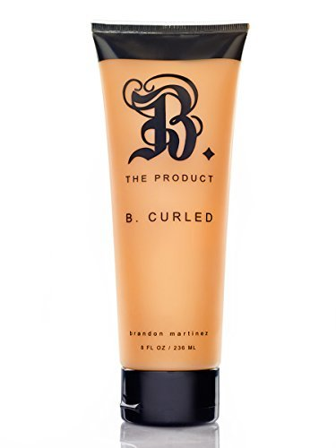 Curl Defining Cream With Argan Oil, Best Curl Cream For Curly Hair, Moisturizing Curl Cream For Dry And Frizzy Hair-B. THE PRODUCT B. Curled - Product The B