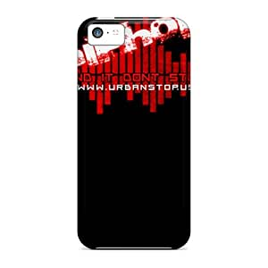 First-class Cases Covers For Iphone 5c Dual Protection Covers Hip Hop Dont Stop