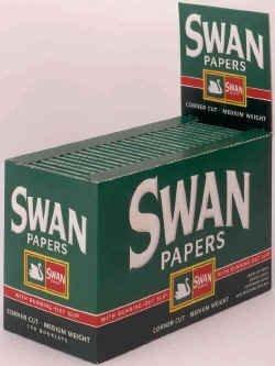 Swan Rolling Paper, Green