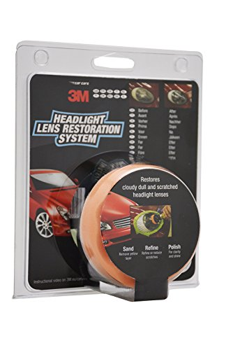 3M 39073 Headlight Lens Restoration Kit to Restore Dull/Faded/Discoloured...