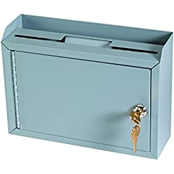 STEELMASTER Multi-Purpose Steel Drop Box, Gray (22258DBGY)