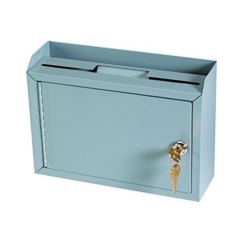 - STEELMASTER Multi-Purpose Steel Drop Box, Gray (22258DBGY)
