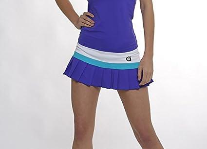 Falda padel Flax (Azul, XS): Amazon.es: Deportes y aire libre
