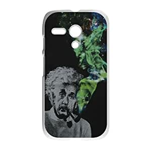 Classic Fashion Einstein Motorola G Cell Phone Case White Trendy Creative funny LOHL3HTY809361