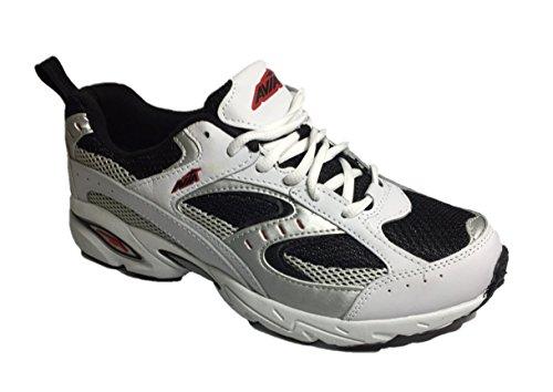 Avia-Mens-Wyatt-Athletic-Running-Shoes-Black-White-7-US