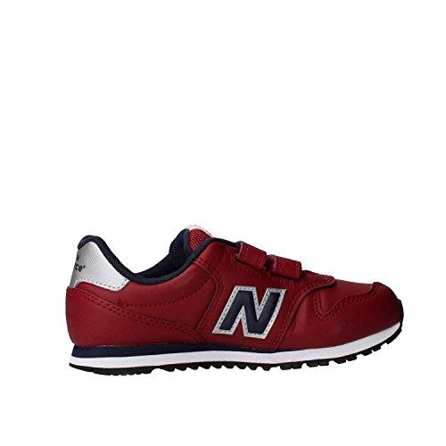 New Balance Kv500 Gey, Zapatillas de Deporte Unisex Niños Rosso