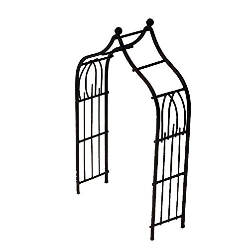 Provence AF3026 Iron Mini Fairy Garden Arbour, Bronze by Provence