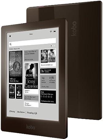 Kobo Aura HD - Lector de eBooks (pantalla de 6.8, 4 GB, microSD, Bluetooth), marrón: Amazon.es: Electrónica