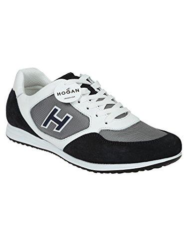 Uomini Hogan Hxm2050y810i9l0q3d Sneakers In Pelle Bianca