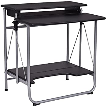 Amazon Com Tangkula Foldable Computer Desk Home Office