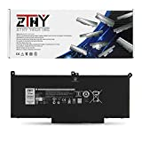 ZTHY 60Wh F3YGT Laptop Battery Replacement for Dell Latitude 12 7000 7280 7290/13 7000 7380 7390/14 7000 7480 7490 Series DM3WC 0DM3WC 2X39G 7.6V 4-Cell