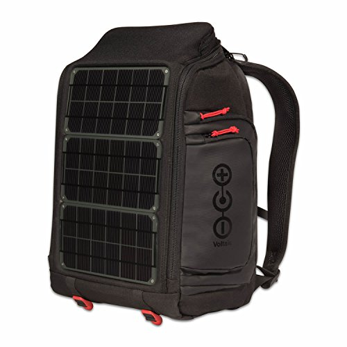 Voltaic Systems - Array USB Solar Backpack with Backup Battery Pack - Charcoal | Powers Laptops, Phones, & More | Solar Charge your Laptop Anywhere by Voltaic Systems