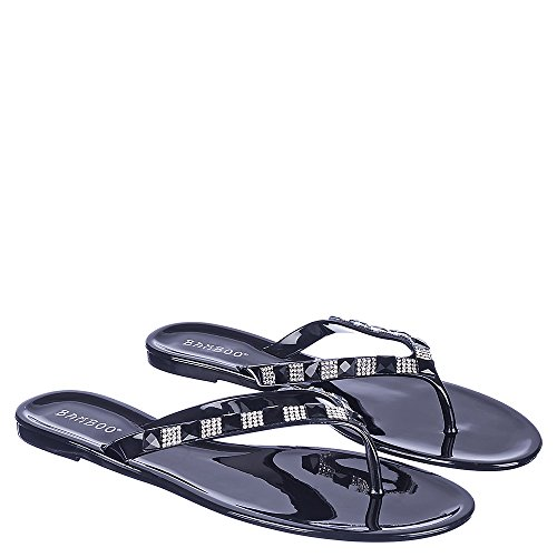 Bamboo Hawaii-43 Sandal Black