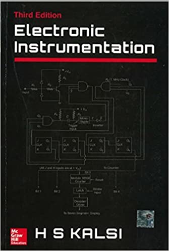 PDF Electronic Instrumentation By H.S. Kalsi Book Free Download