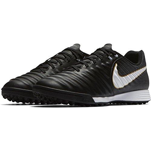 TF 002 Calcio Black Nike da Tiempox IV Ligera Uomo White Nero Scarpe black fwxpq7tx