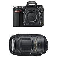 Nikon D750 FX-Format DSLR Camera with 55-300mm Lens