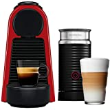 Nespresso Essenza Mini A3ND30-BR3-RE-NE, Máquina de Café com Aeroccino, 220V, Vermelho