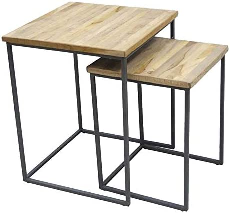 Citizen Q and Q - Mesa Auxiliar Nido (50 x 50 x 62 cm): Amazon.es ...