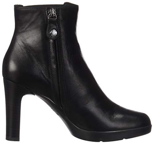 Annya High Botines Geox H C9999 Black Noir Femme D 5Hnw4xq6
